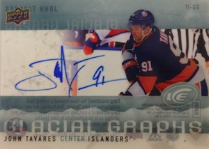 2014-15 Upper Deck Ice Hockey Glacial Graphs
