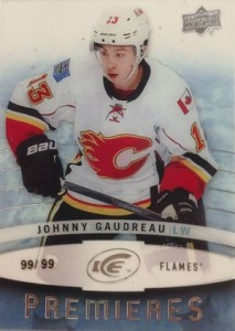 2014-15 Upper Deck Ice Hockey Premieres Johnny Gaudreau