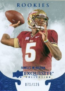 2014 Exquisite Collection 2015 Draft Picks Jameis Winston #ER-JW