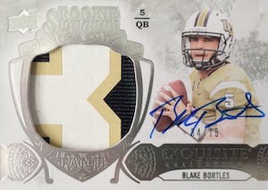 2014 Exquisite Collection Rookie Signature Patch #138 Blake Bortles