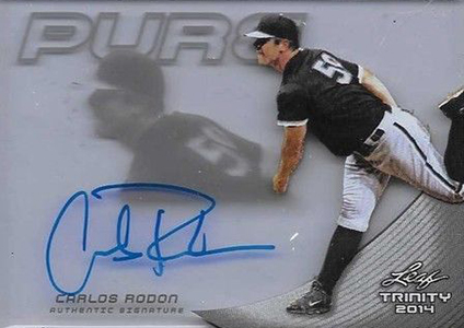 Carlos Rodon Prospect Card Highlights 8