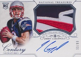 2014 Panini National Treasures Football Rookie Patch Autographs Gallery 1