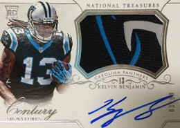 2014 Panini National Treasures Football Rookie Patch Autographs Gallery 3