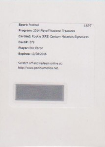 2014 Panini National Treasures Football Rookie Patch Autographs Gallery 10
