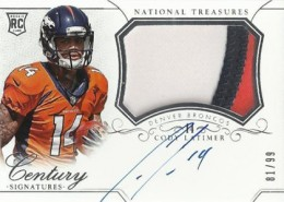 2014 Panini National Treasures Football Rookie Patch Autographs Gallery 14