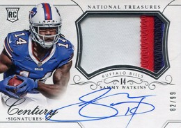 2014 Panini National Treasures Football Rookie Patch Autographs Gallery 18