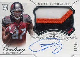 2014 Panini National Treasures Football Rookie Patch Autographs Gallery 24