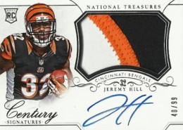 2014 Panini National Treasures Football Rookie Patch Autographs Gallery 26