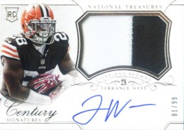 2014 Panini National Treasures Football Rookie Patch Autographs Gallery 27