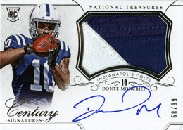 2014 Panini National Treasures Football Rookie Patch Autographs Gallery 29