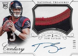 2014 Panini National Treasures Football Rookie Patch Autographs Gallery 31