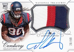 2014 Panini National Treasures Football Rookie Patch Autographs Gallery 5
