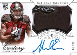 2014 Panini National Treasures Football Rookie Patch Autographs Gallery 13