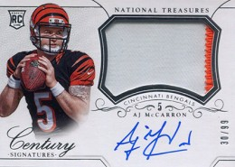 2014 Panini National Treasures Football Rookie Patch Autographs Gallery 15