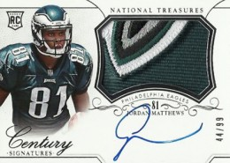2014 Panini National Treasures Football Rookie Patch Autographs Gallery 17