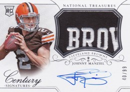 2014 Panini National Treasures Football Rookie Patch Autographs Gallery 19