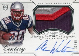 2014 Panini National Treasures Football Rookie Patch Autographs Gallery 21