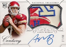 2014 Panini National Treasures Football Rookie Patch Autographs Gallery 28