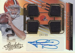 Johnny Manziel Cards, Rookie Cards, Key Early Cards and Autographed Memorabilia Guide 27