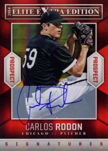 Carlos Rodon Prospect Card Highlights 10