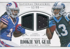 2014 Panini National Treasures Football Cards 41
