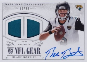 2014 Panini National Treasures Football Cards 42