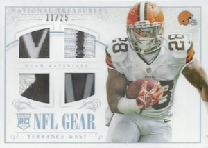 2014 Panini National Treasures Football Cards 44