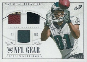 2014 Panini National Treasures Football Cards 43