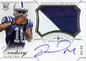 2014 Panini National Treasures Football Cards 24