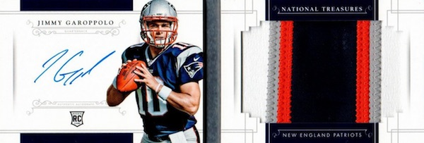 2014 Panini National Treasures Football Cards 38