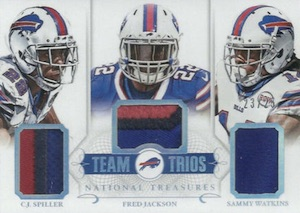 2014 Panini National Treasures Football Cards 47