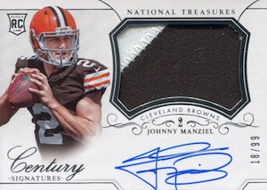 Johnny Manziel Cards, Rookie Cards, Key Early Cards and Autographed Memorabilia Guide 39