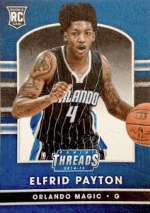 2014 Panini Threads Elfrid Payton RC #252 Leather
