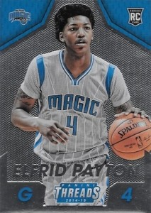 2014 Panini Threads Elfrid Payton RC #297 Micro Etch