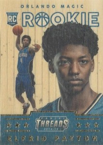 2014 Panini Threads Elfrid Payton RC #342 Wood