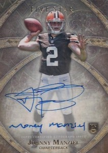 Johnny Manziel Cards, Rookie Cards, Key Early Cards and Autographed Memorabilia Guide 13