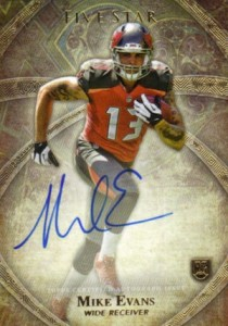 2014 Topps Five Star Football Autograph Mike Evans