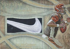 2014 Topps Five Star Football Nike Swoosh