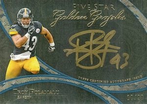10 Football Cards to Celebrate the Career of Troy Polamalu 9