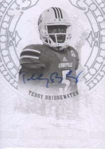 2014 Upper Deck Exquisite Collection Football Opulence Bridgewater