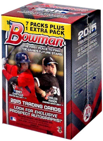 2015 Bowman Baseball Cards 85