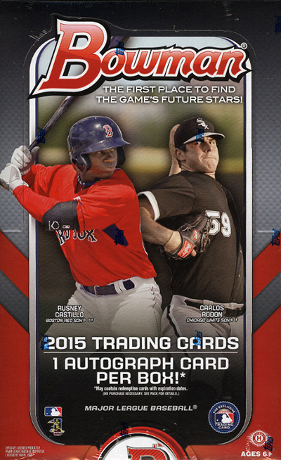 2015 Bowman Baseball Cards 66