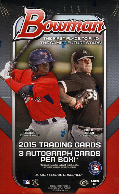 2015 Bowman Baseball Cards 72
