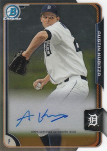 2015 Bowman Baseball Chrome Prospect Autographs Guide 21