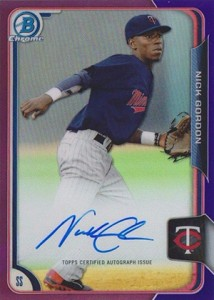 2015 Bowman Baseball Chrome Prospect Autographs Guide 14