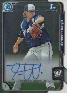 2015 Bowman Baseball Chrome Prospect Autographs Guide 49
