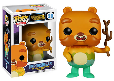 2015 Funko Pop Bravest Warriors 26 Impossibear