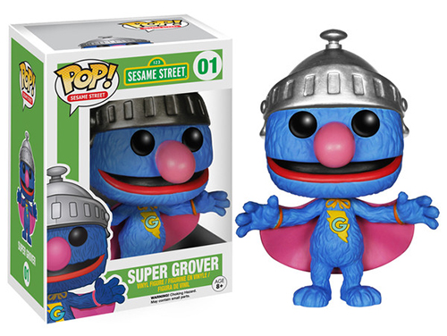 2015 Funko Pop Sesame Street 01 Super Grover