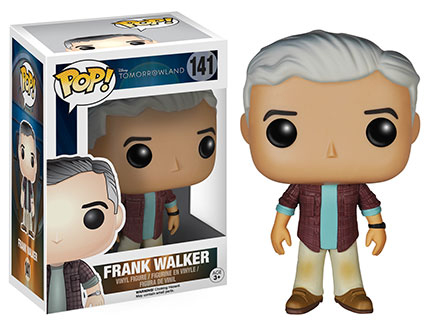 2015 Funko Pop Tomorrowland 141 Frank Walker