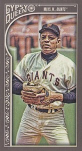 2015 GQ Mini Var 100 Willie Mays